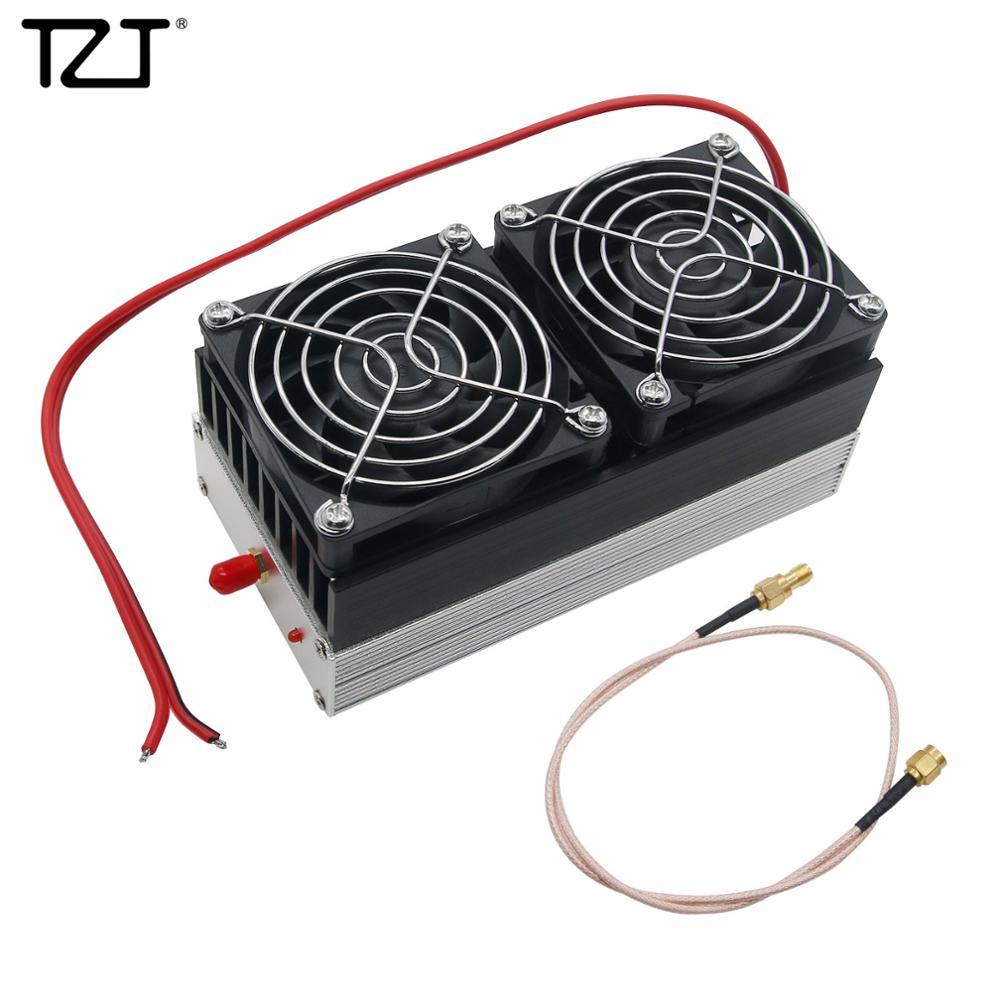 TZT 80 Вт-90 Вт 400 МГц-470 МГц внутреннее радио для автомобиля UHF Ham радио усилитель мощности