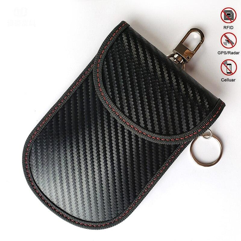 Чехол сумка для автомобильных ключей с дистанционным управлением карт защитой