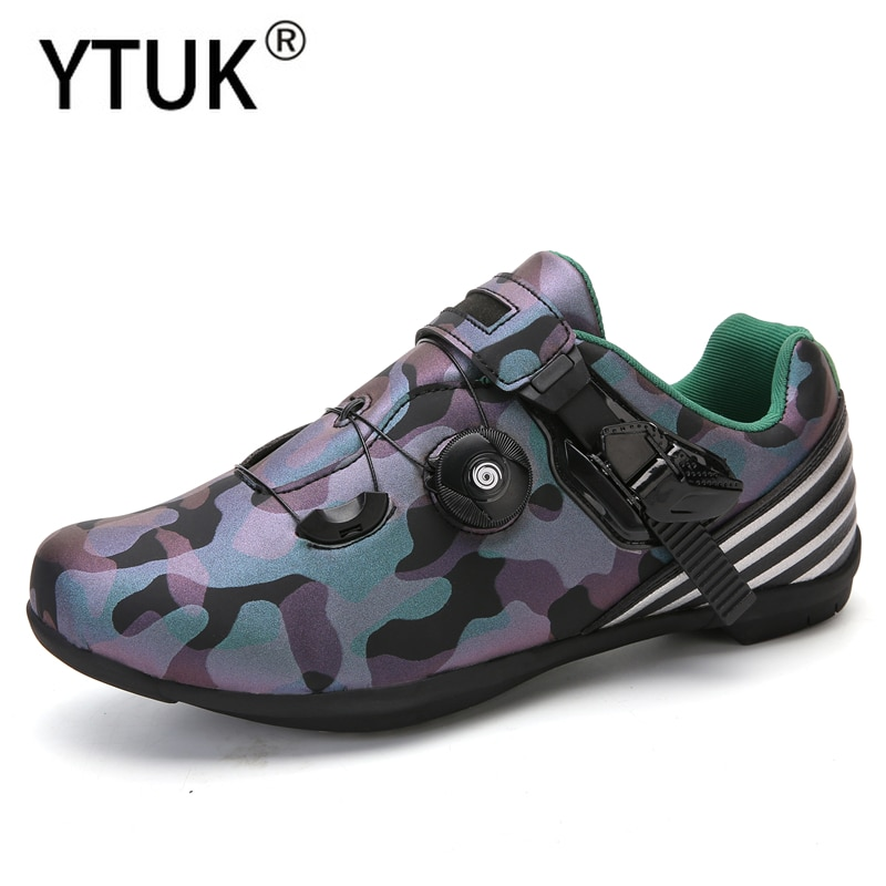 YTUK mountain bike bicycle men and women shoes outdoor MTB sports couple shoes self-locking professional racing road bike shoes