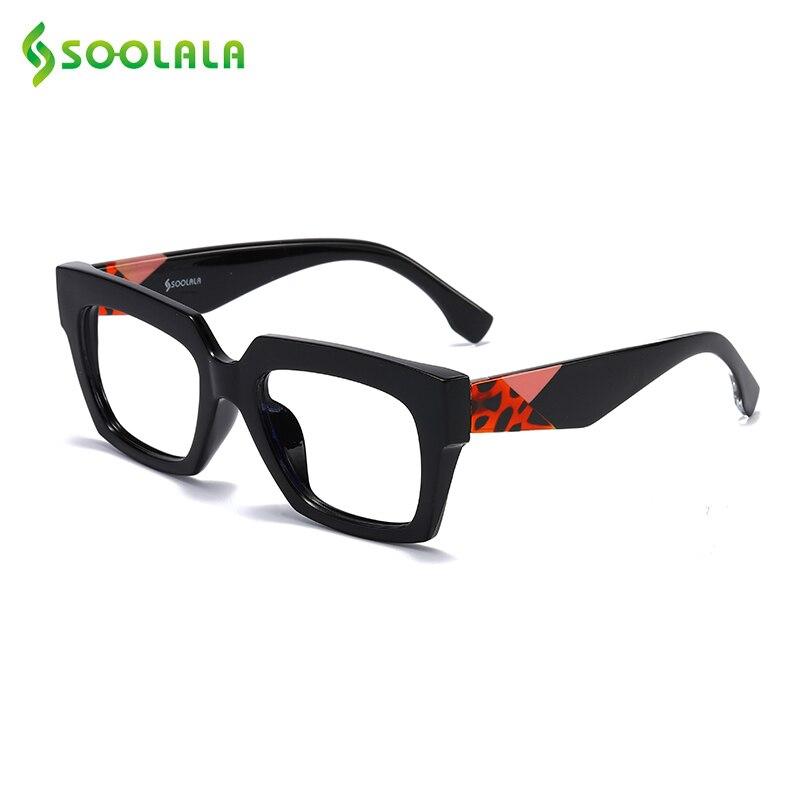 SOOLALA Anti Blue Light Blocking Reading Glasses Women Men Lentes De Lectura Mujer 0.5 0.75 1.0 1.25 1.5 1.75 Presbyopia Glasses