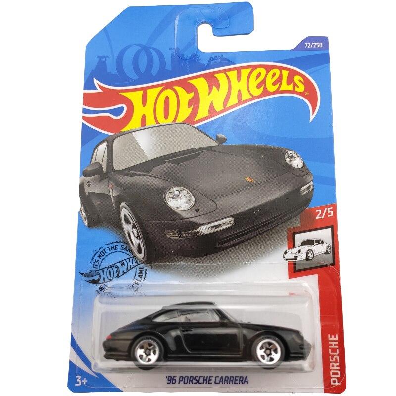 Hot Wheels 164 2020-72, coche de Metal fundido a presión PORSCHE CARRERA 96, juguetes para niños, regalo