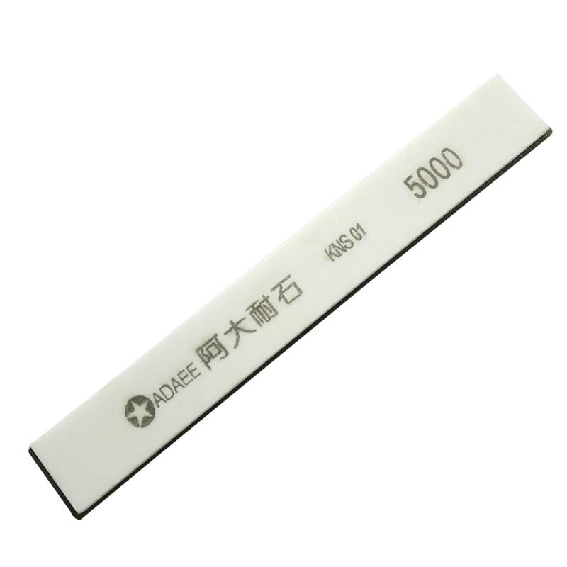 150*20*5mm Adaee 5000 piedra de ángulo fijo para piedra para afilar cuchillo profesional afilador cocina cuchillo Natural herramienta N