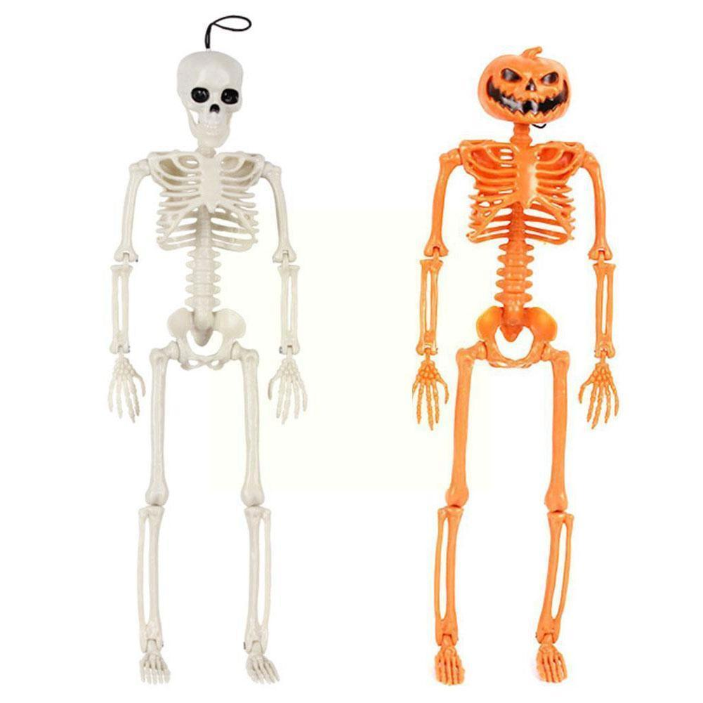 Искусственное человеческое тело, украшение черепа, дом с привидениями, украшение человека, реквизит, скелет X8I6