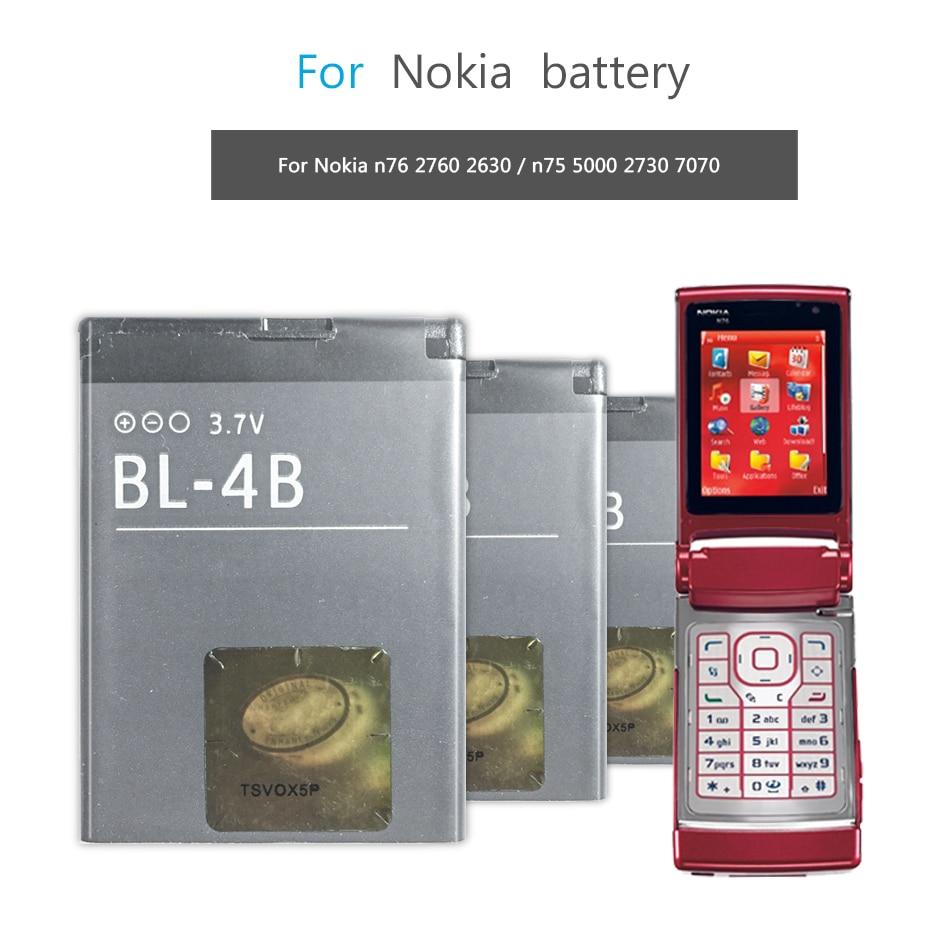 Батарея BL-4B BL-4C BL-4CT BL-4D BL-4U BL-4UL BL-5B BL-5C BL-5CA BL-5CB BL-5CT BP-5Z BL-5J BLC-2 BP-4L BP-5M BP-6M для Nokia