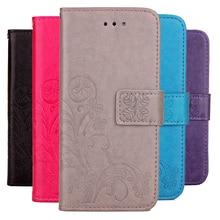 3D Flower Case for Philips Xenium W8500 Phone Case Flip Wallet Cover Fundas Card Holder Kickstand
