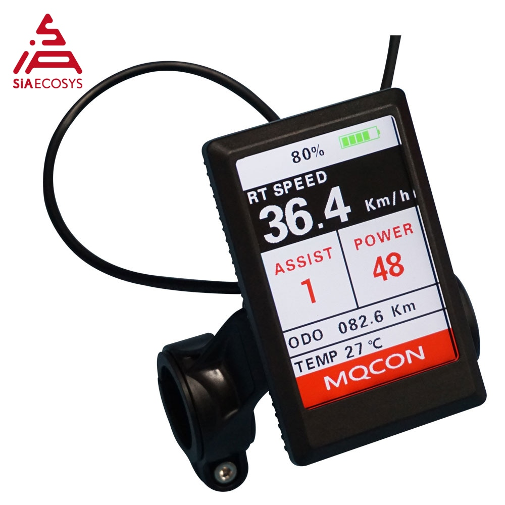 Sabvoton Motor Controller SVMC72150 V2 TFT H6 color display speedometer and with bluetooth adapter for bicycle enlarge