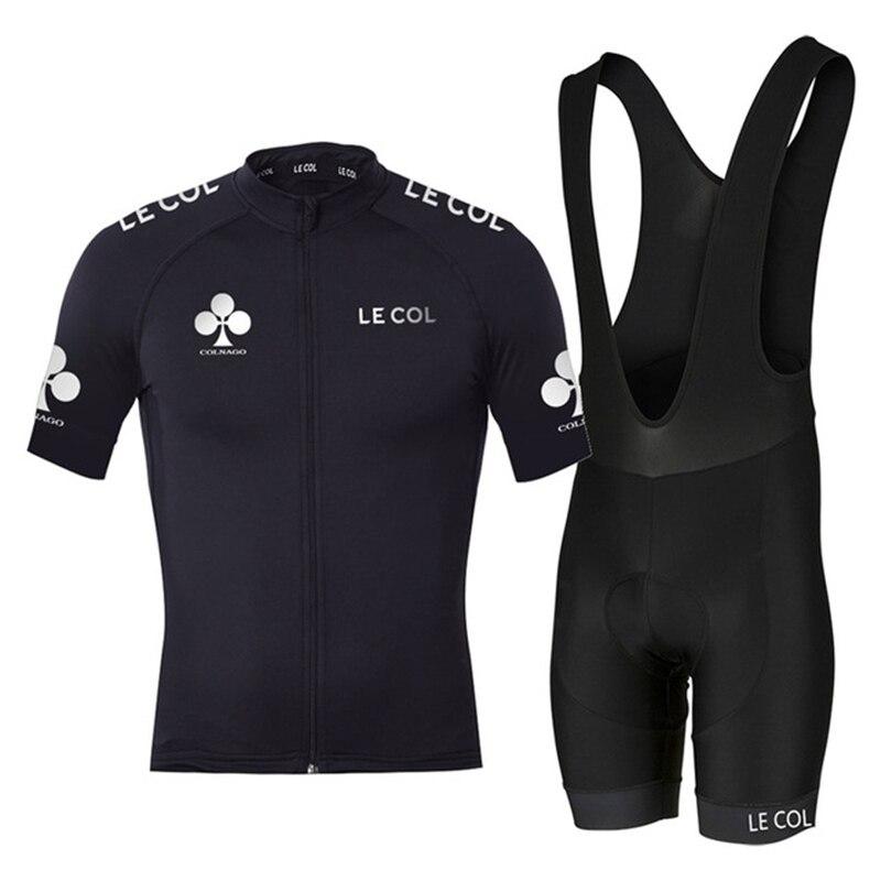Maillot de ciclismo para hombre le col 2020, pantalones cortos de ciclismo para equipos, ropa deportiva para exteriores, ropa ajustada de secado rápido, ropa de ciclismo