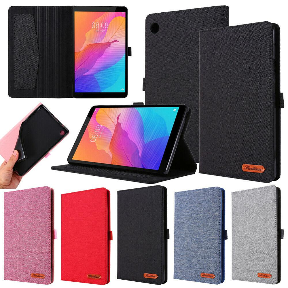 Para Huawei MatePad T8 2020 8 pulgadas soporte textura Horizontal Flip cuero Smart Tablet funda con ranura para tarjeta
