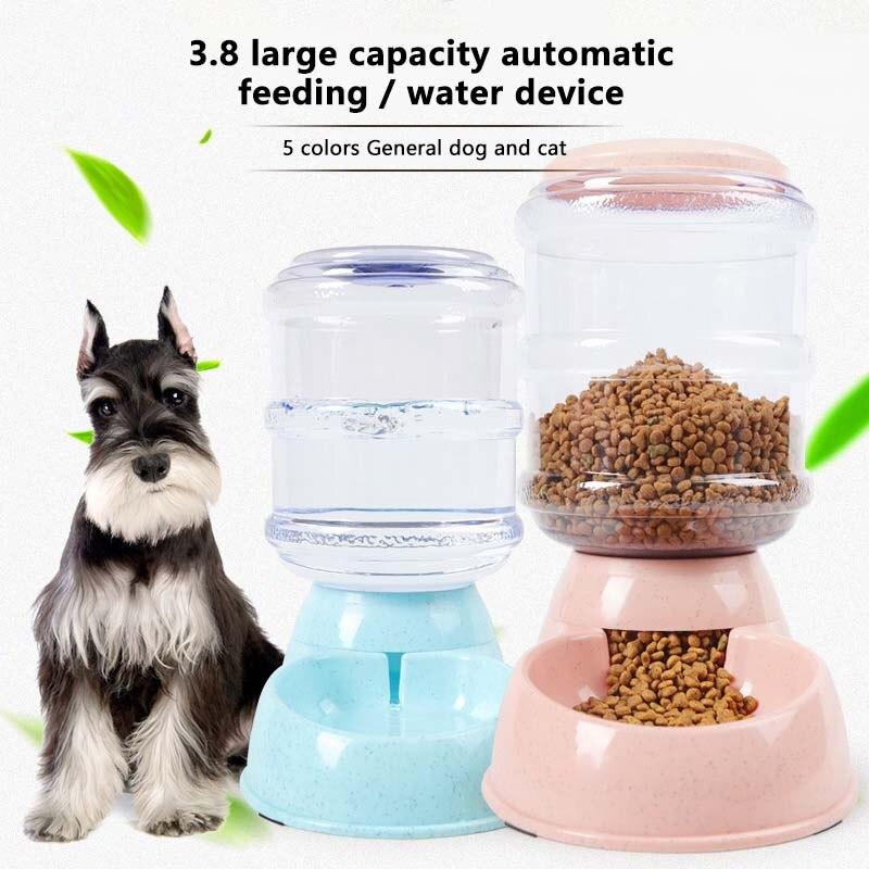 AliExpress - 3.8L Pet Cat Water Fountain Automatic Dog Drinking Fountain Plastic Cat Feeding Large Capacity Dispenser Pet Cat Dog Pet Supply