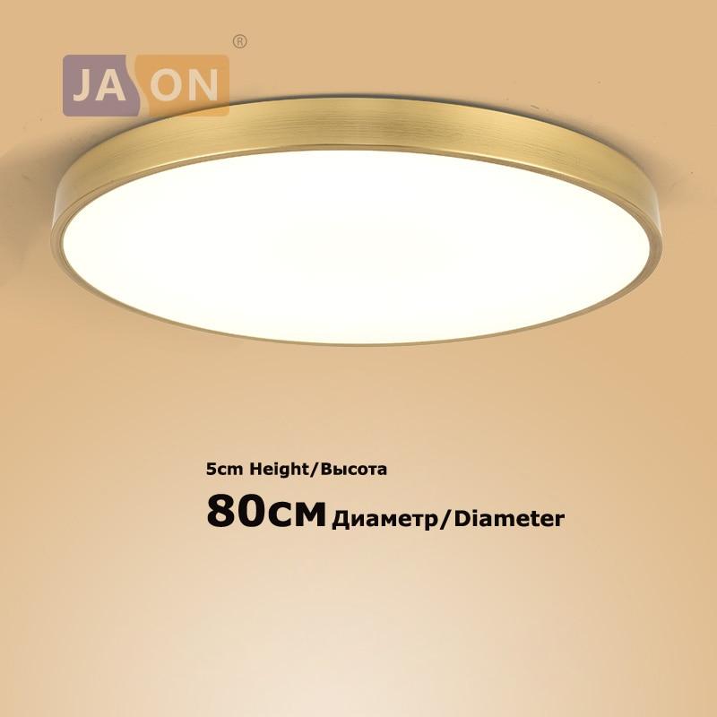 LED الحديثة الحديد الاكريليك جولة الذهب الفضة 80 سنتيمتر السقف أضواء. LED ضوء السقف. السقف مصباح Lamparas دي تيكو ل بهو غرفة نوم
