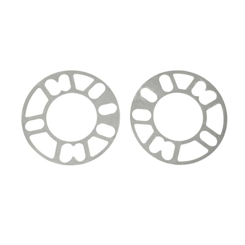 2 uds. Aleación de aluminio 4 y 5 terminales 5mm Junta espaciadora para rueda para Auto vehículo
