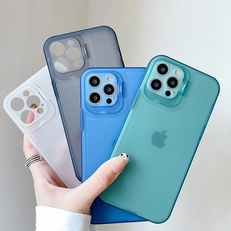 Candy Color Case For iPhone 11 Case iPhone 11 12 Pro Max X Xr Xs Max 7 8 Plus SE 2020 Shockproof Len