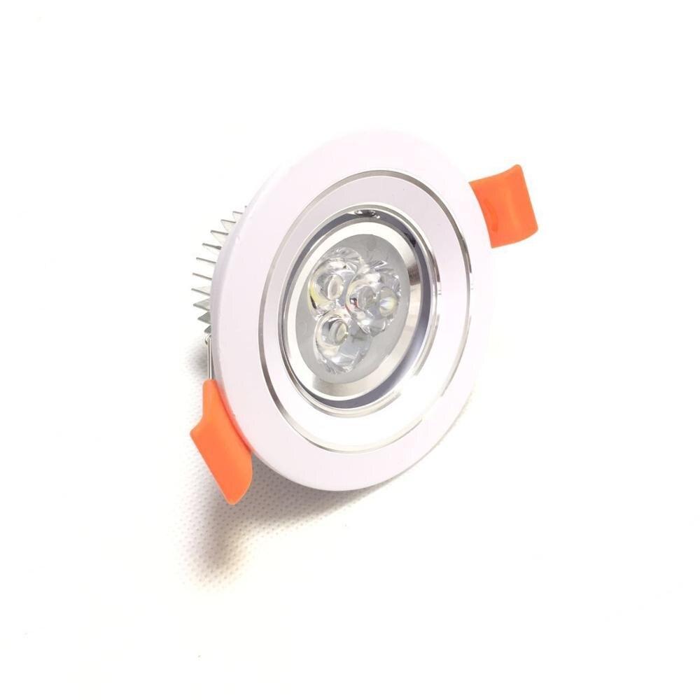 DC12v Led Spotlight Led luces de techo libre cree led 1 unids/lote de energía de Color cálido con Epistar 300-360lm alto brillo