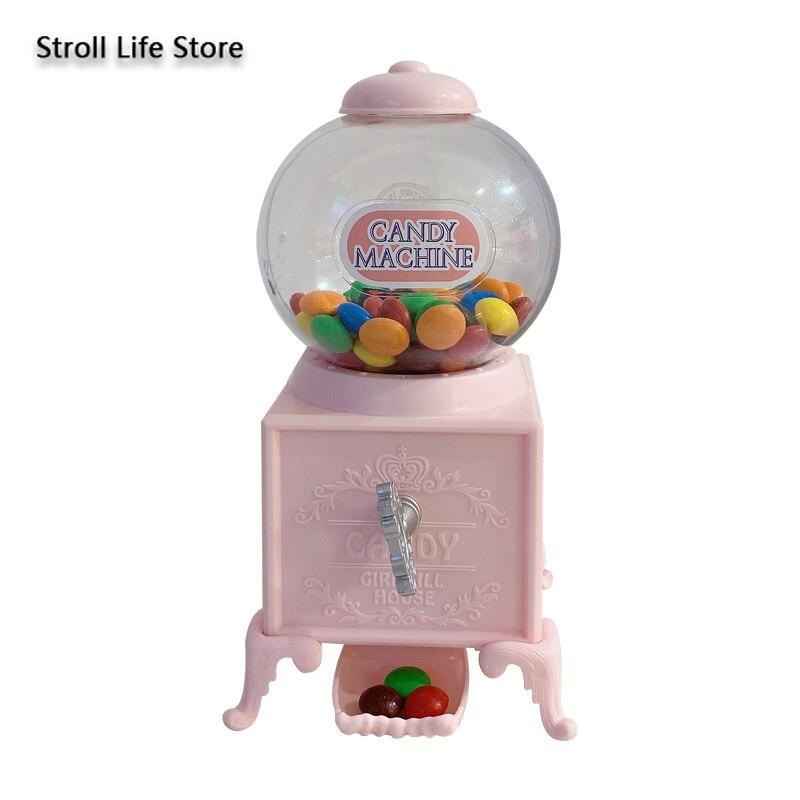 Kreative Rosa Candy Twist Maschine Sparschwein für Papier Geld Boxen Geburtstag Geschenk Valentinstag Mädchen Herz Geschenk Ornamente FP092