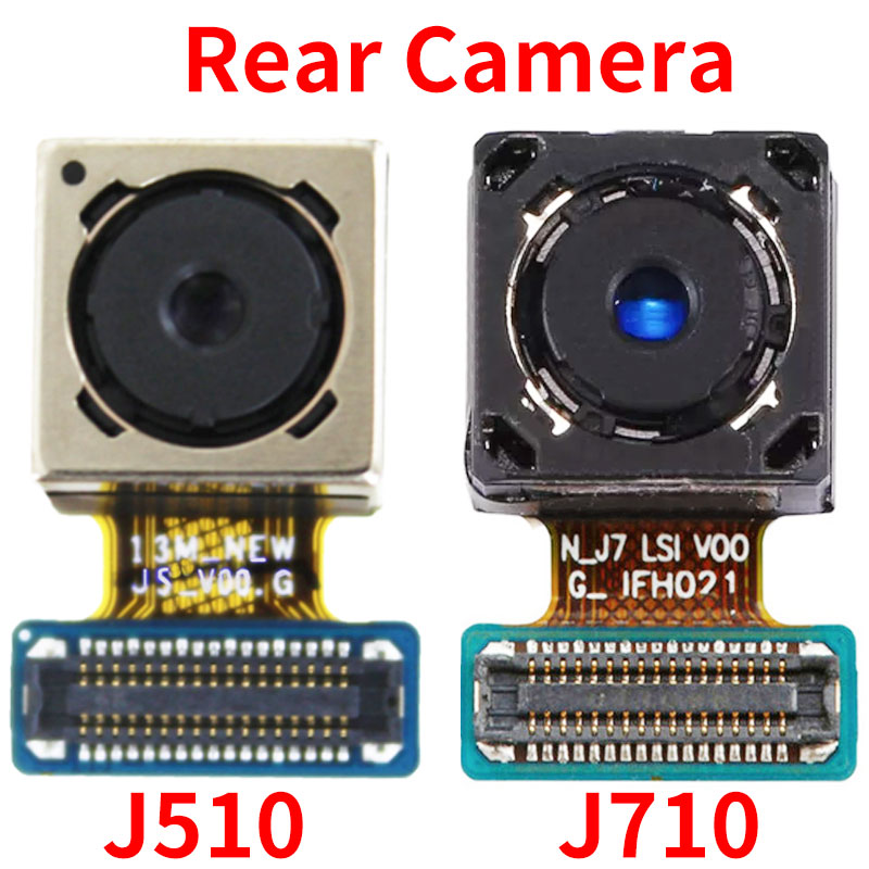 Cable flexible de cámara trasera para Samsung Galaxy J5 J7 2016 J510 J710 J510F J710F, cámara trasera