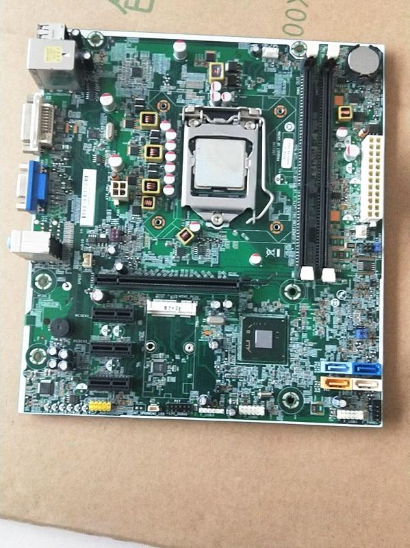 Placa base de escritorio 696234-001 para HP Pro 3500 300 701413-001 H-CUPERTINO-H61-uATX 3,10 placa base testada + cpu gratis