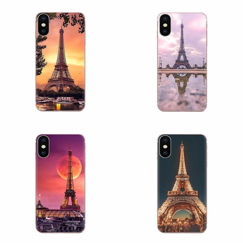 Эйфелева башня Франция Париж силиконовый чехол для телефона Samsung Galaxy Note 5 8 9 S3 S4 S5 S6 S7 S8 S9 S10 5G mini Edge Plus Lite