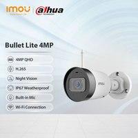 Dahua imou Bullet Lite 4mp уличная Wifi камера видеонаблюдения 1080P H.265 ночное видение встроенный микрофон класс защиты IP67 Wi-Fi облако