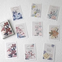 28pcs mini lomo cards postcard cartoon business cards hand drawn postcard greeting cards letter pads birthday gifts card set