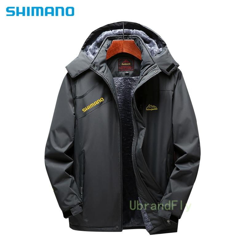 Shimanos Fishing Jacket Waterproof Camping Anti-Scratch Naturehike Fishing Clothes Durable Autumn Winter Keep Warm Daiwa Coat enlarge