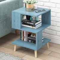 nordic modern wooden nightstand coffee sofa end table bedside cabinet cupboard bedroom storage home furniture