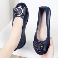 womens shoes spring 2021 fashion plus size shallow flats shoes for women sneakers slip on ballet flats casual ladies shoes