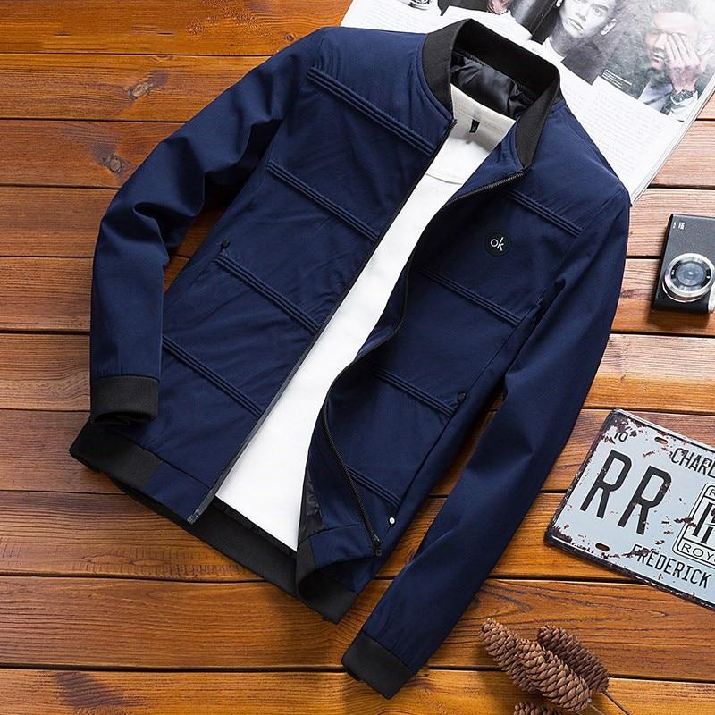 ¡Novedad de 2019! Chaquetas de primavera para hombre, chaqueta de piloto, abrigos de béisbol a la moda para hombre, abrigo ajustado de Hip Hop, ropa de marca, ropa de piloto, ropa de abrigo