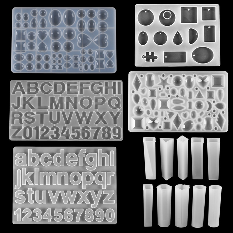 Pendant Craft Silicone Mold Casting Molds Resin Epoxy UV Jewelry Making Moulds for DIY Jewelry Making Supplies Accessories Tools demixing pendant resin mold silicone mold casting molds epoxy uv jewelry making moulds jewelry making jewelry tools
