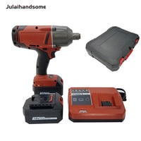 """Julaihandsome 18V Brushless Li-ion Impact Wrench 3/4"""" High Torque Impact Wrench with Friction Ring"""