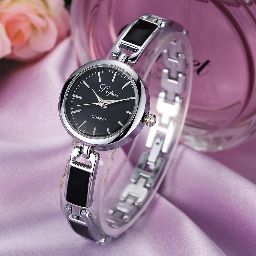 Moda senhoras mulheres unisex aço inoxidável strass relógio de pulso quartzo simples e elegante luxuoso reloj mujer