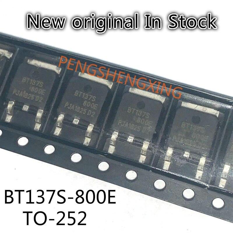 10PCS/LOT  BT137S-800E BT137S 800V 8A TO252  New original spot hot sale