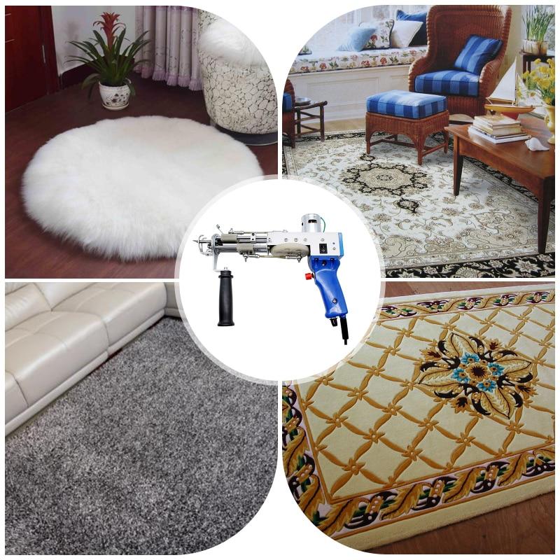 110V-240V Electric Hand Carpet Tufting Gun Rug Weaving Flocking Machines Loop Pile Cut Pile Knitting Power Tools Industrial enlarge