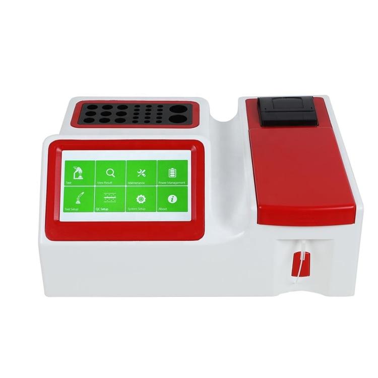 Малогабаритный Настольный полностью автоматический анализатор химии крови, биохимический анализатор Kd750