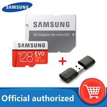 SAMSUNG carte Micro SD 128 go classe 10 carte mémoire EVO + EVO Plus microSD 512 go 256 go 64 go 8 go TF carte cartao de mémoire
