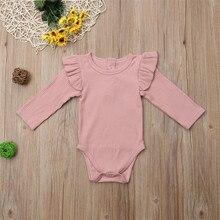 baby bodysuit baby body neonato clothes baby girl onesie funny bodies algodon dla dziewczyn Santa Christmas Long Sleeve Solid Z4