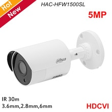 Dahua New Lite Plus HDCVI Security camera HAC-HFW1500SL 5MP Fixed lens Day Night vision HD SD switchable HDCVI IR Bullet Camera