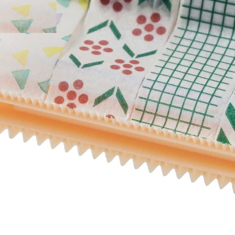Купить с кэшбэком 1 Pcs Masking Tape Cutter Japanese Stationery Washi Tape Storage Organizer Cutter Desktop Office Tape Dispenser School Supplies
