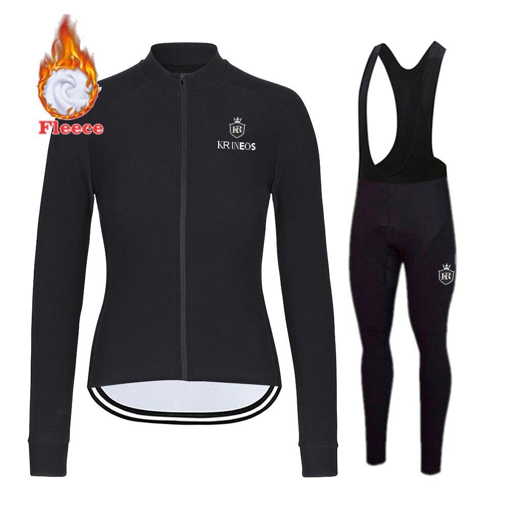 Las mujeres de Ropa de Ciclismo chaleco MTB conjunto de lana térmica...
