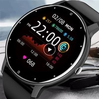 2021 new smart watch men full touch screen sports fitness watch ip67 waterproof bluetooth for android ios smartwatch gift women