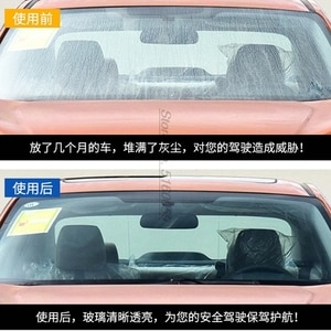 Image 4 - Не мороз 50 градусов автомобильные аксессуары очиститель стеклоочистителя для водоотталкивающего изопропанола очиститель автомобиля от царапин на окно автомобиля