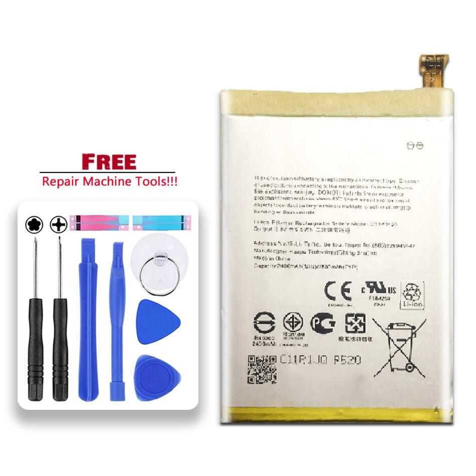 C11P1423 para Asus Zenfone 2 ZE500CL Z00D batería de li-polímero 2400mAh reemplazo de batería de teléfono móvil