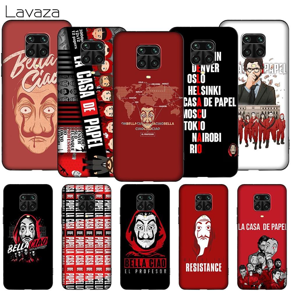 Lavaza K78 La Casa De Papel para Xiaomi MI MAX Mix nota 2s 6 8 9 9T 10 A1 A2 A3 CC9E F1 5X 6X Lite Pro SE