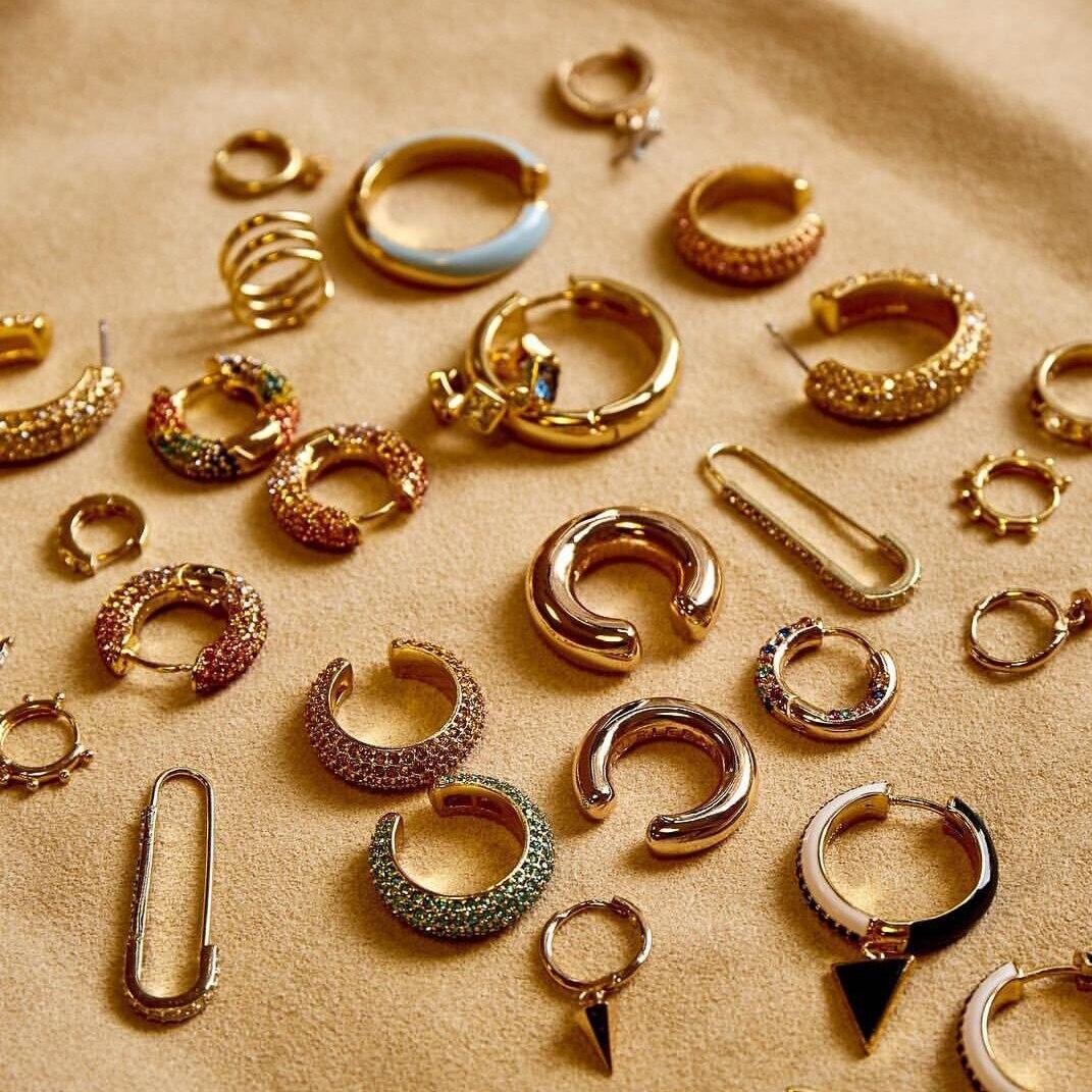 2019 New Fashion Pearl Ear Cuff Vintage Stackable C Shaped Rhinestone Small Earcuffs Clip Earrings for Women Wedding Jewelry