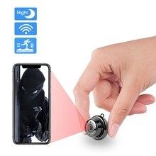 Mini caméra IP Wifi HD sans fil caméra de sécurité à domicile Vision nocturne détection de mouvement deux voies Audio bébé moniteur CCTV Surveillance