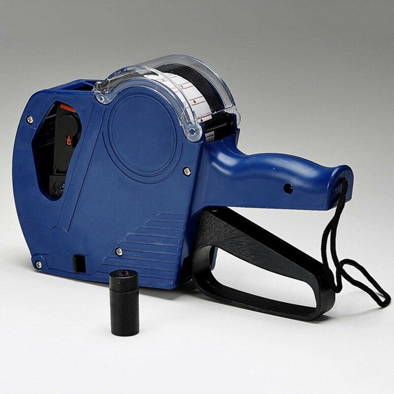 1 * MX-5500 ценник машина для EOS 8-разрядный ценник 5000 линия Стикеры этикетка чернила 21 мм * 12 мм Цвет случайный etykiety maszynka