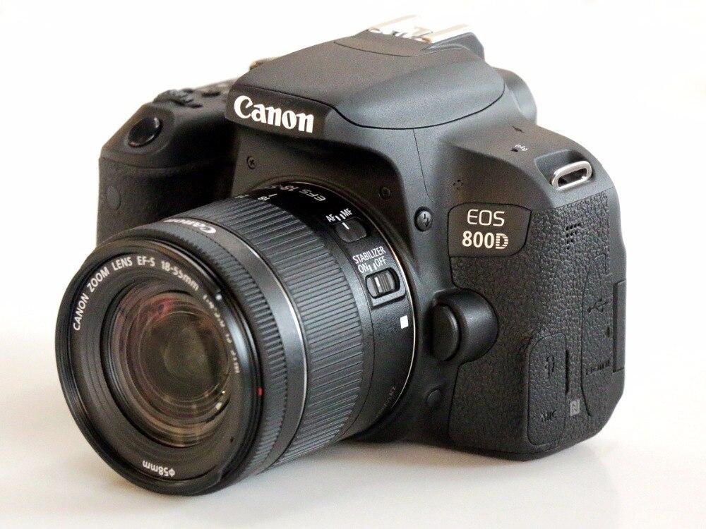 Canon 800D T7i DSLR corps de lappareil photo et EFS 18-55mm est objectif STM