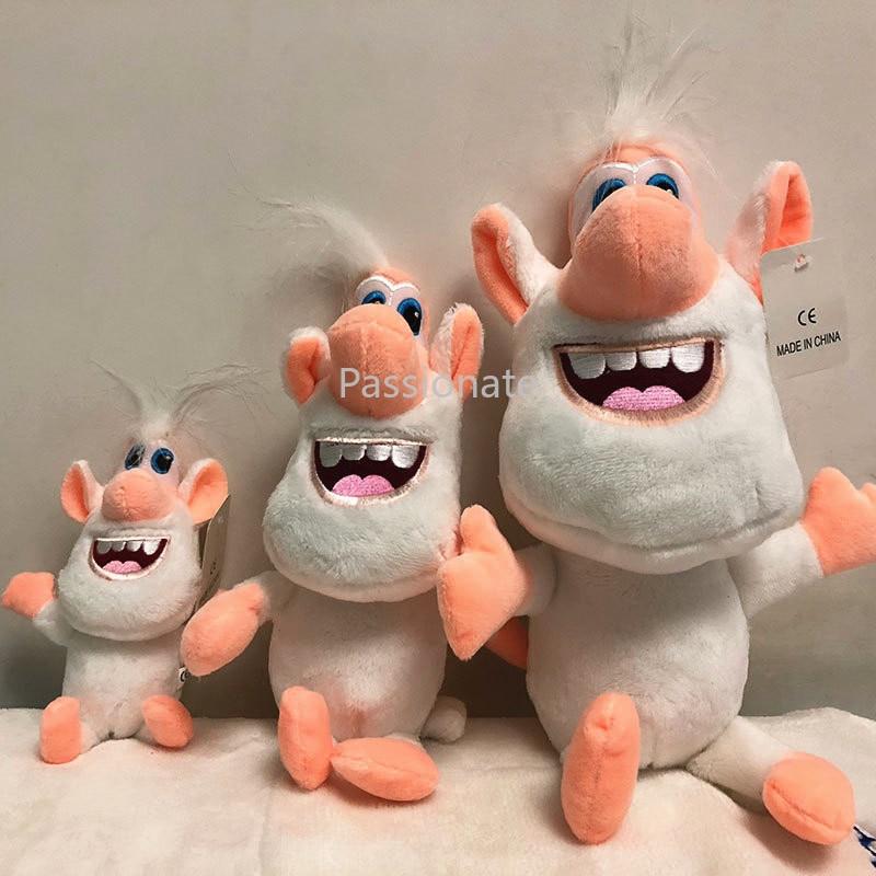 Nuevas muñecas rusas de juguete de felpa Booba Buba de animación lindos Muppets bonito regalo para niños
