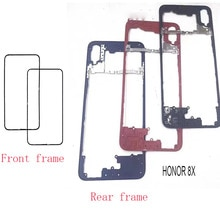 Repair Spare Parts For Huawei Honor 8X Back Bezel LCD Supporting Middle Frame  Front Plate Housing F