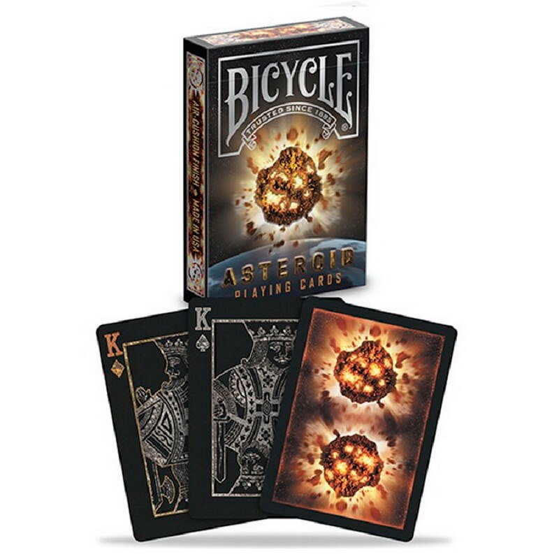 Juego de cartas de asteroide para bicicleta, plataforma Planetoid de planeta USPCC, juegos de cartas de póker coleccionables, accesorios de trucos de magia para mago