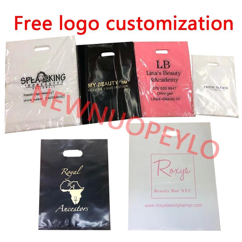 500 шт./лот оптовая продажа изготовления на заказ полиэтиленовые пакеты напечатать ваш логотип, чтобы сделать заказ вечерние подарочная упак...